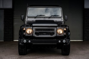 Chelsea Truck Company Luxury Volcanic Rock Over Gloss Black Defender