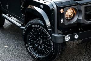 Chelsea Truck Company Luxury Volcanic Rock Over Gloss Black Defender