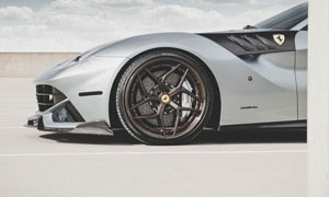Ferrari F12Berlinetta with Brixton Forged PF5 Targa Series Wheels