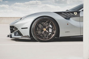 Ferrari F12Berlinetta with Brixton Forged PF5 Targa Series Wheels
