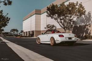 Bentley Continental GTC Speed with Brixton Forged M51 Targa Series Wheels by BenzWorks