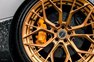 Nardo Grey McLaren 720S Brixton Forged PF10 Duo Series Wheels by RDBLA