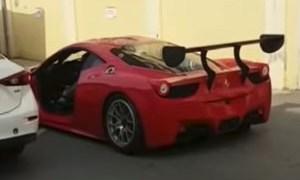 Ferrari 458 Challenge Door Removal