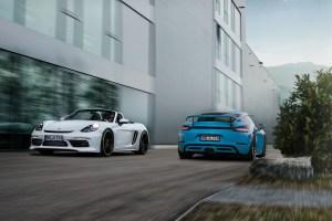 TECHART Porsche 718 Cayman and 718 Boxster