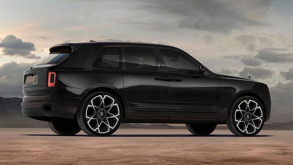 Rolls-Royce Cullinan Black Label Edition by Kahn Design