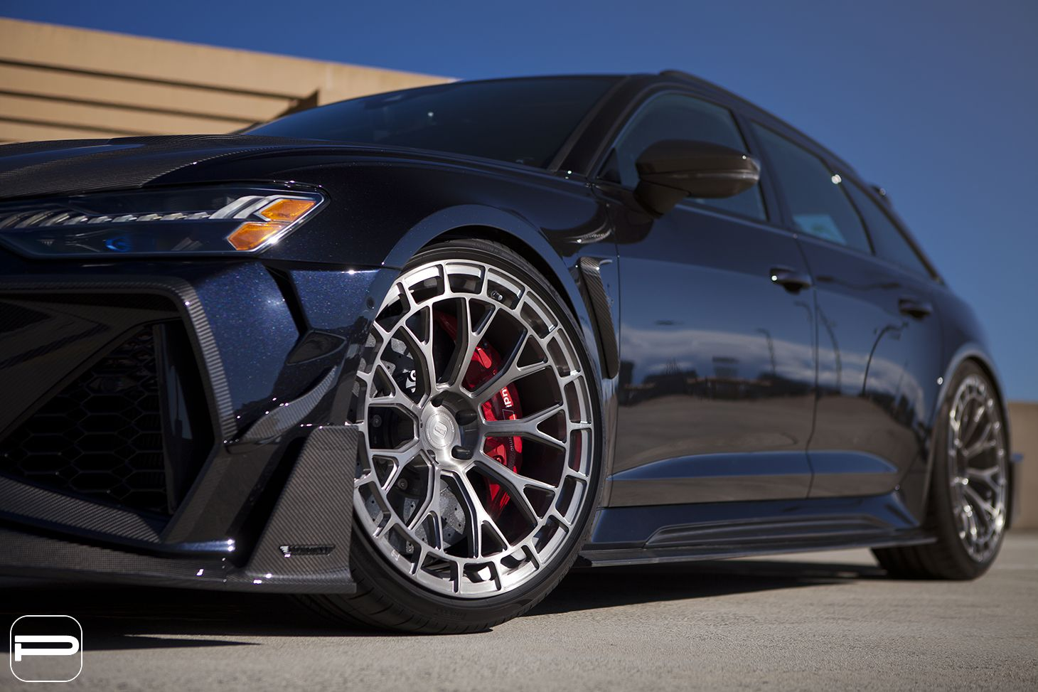 Mansory Audi RS6 Avant with PUR RS50 Forged Wheels by SR Auto Group