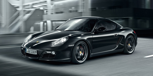 Porsche_cayman_Black