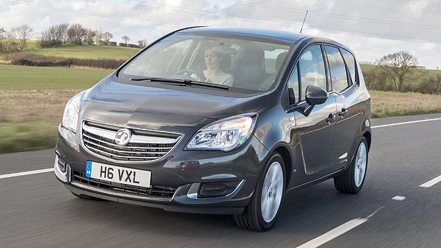 Vauxhall Meriva 2014