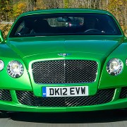 Great green cars St Patrick's Day