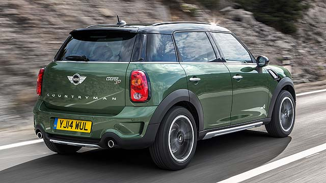 Mini Countryman Facelift Revealed Green And Greener Motoring