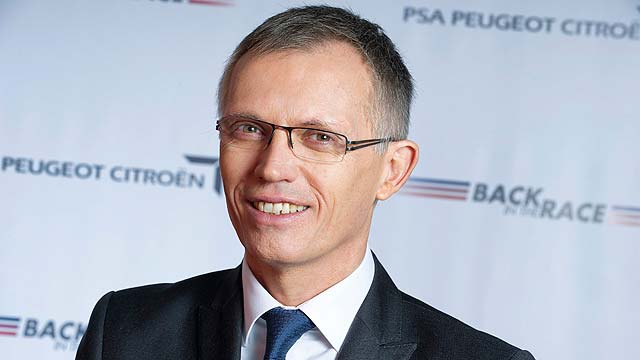 PSA chairman Carlos Tavares