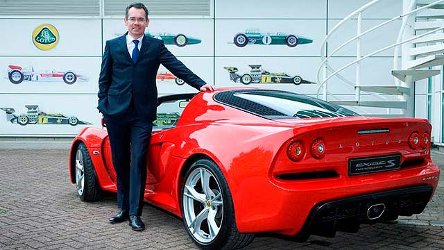 Jean-Marc Gales appointed Lotus CEO
