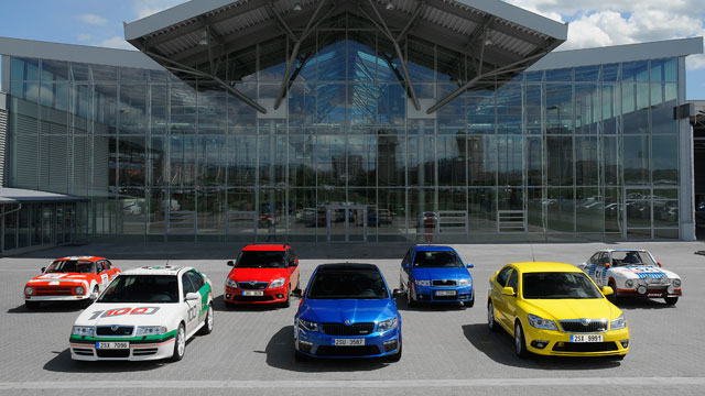 We celebrate 40 years of the Skoda vRS