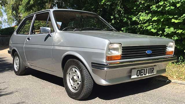 Ford Fiesta 1.0 1977