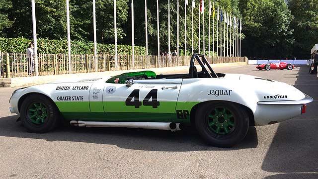 Goodwood FoS Jaguar E-type Group 44