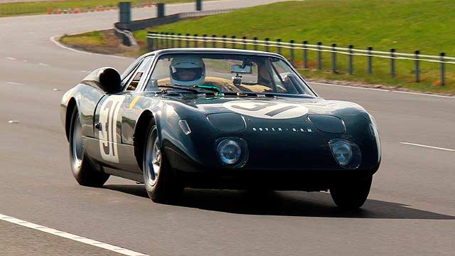 1965 Rover BRM gas tubine Le Mans