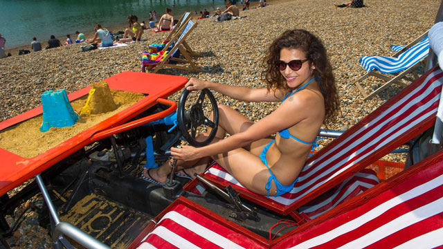 MR the deckchair you can drive