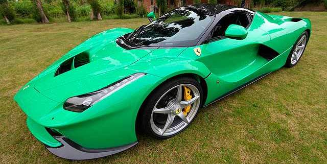 Jay-Kay-green-LaFerrari