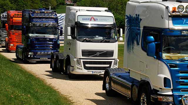 UK trucks