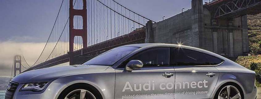 Audi Piloted connected car