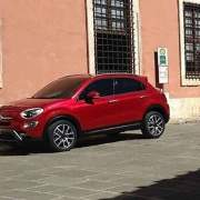 Fiat 500X leaked