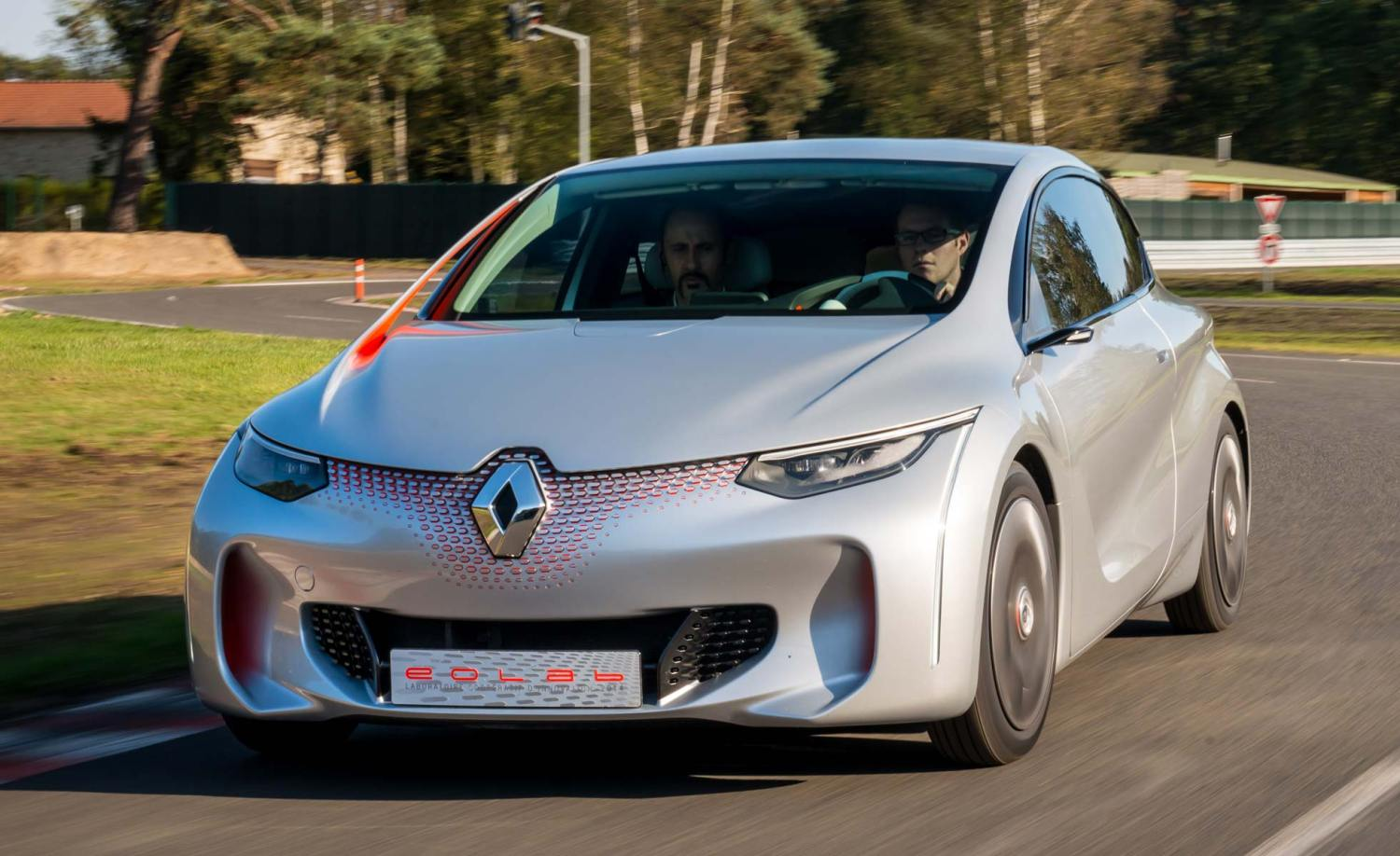 Renault EOLAB prototype: 2014 first drive