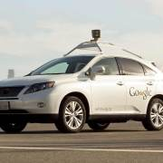 Google self-driving Lexus RX hybrid SUV