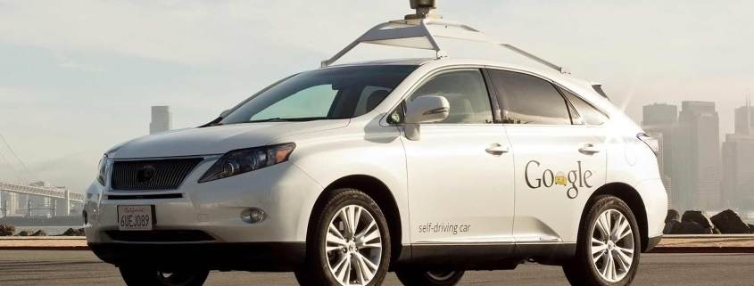 Google self-driving Lexus RX hybrid SUV