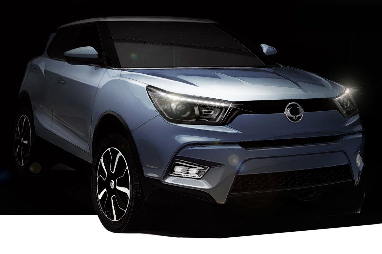 SsangYong teases Juke-rivalling Tivolo crossover