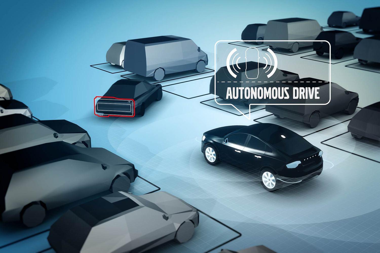 Volvo autonomous parking app