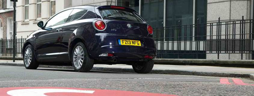 Alfa Romeo in London Congestion Charge zone