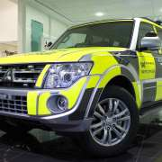 Highways Agency Mitsubishi Shogun