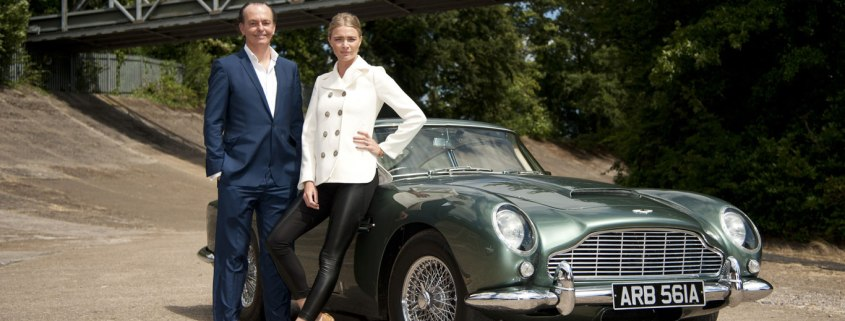 Quentin Willson and Jodie Kidd to present new Channel 5 classic car show