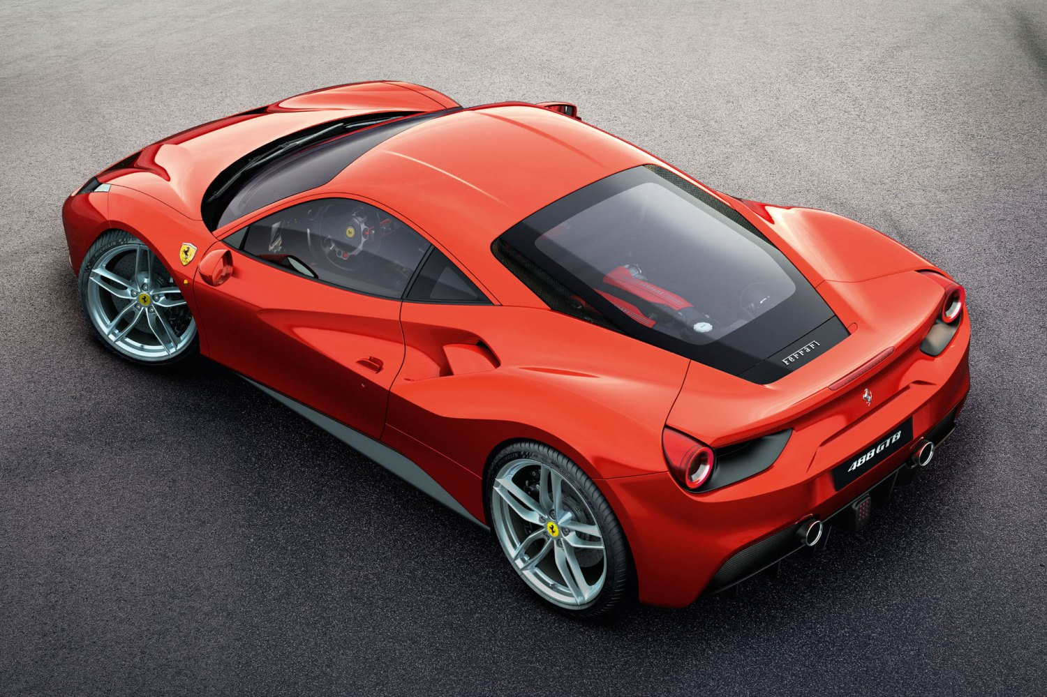 Ferrari reveals turbocharged 488 GTB ahead of Geneva Motor Show debut