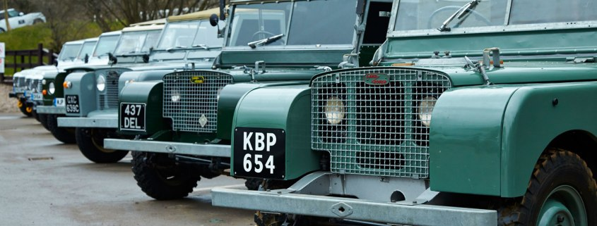 Throwback Thursday: a visit to Land Rover