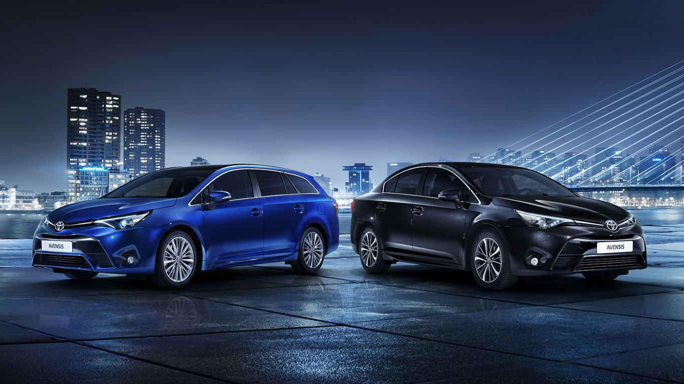Toyota reveals facelifted Avensis ahead of Geneva 2015