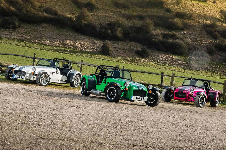 Caterham's new 2015 range