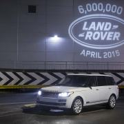 Land Rover 6 million