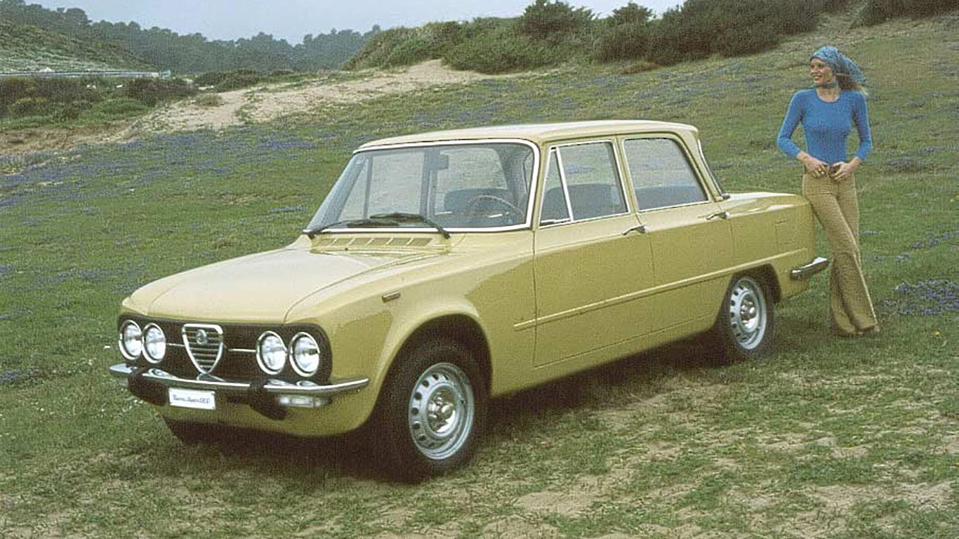 Original Alfa Romeo Giulia