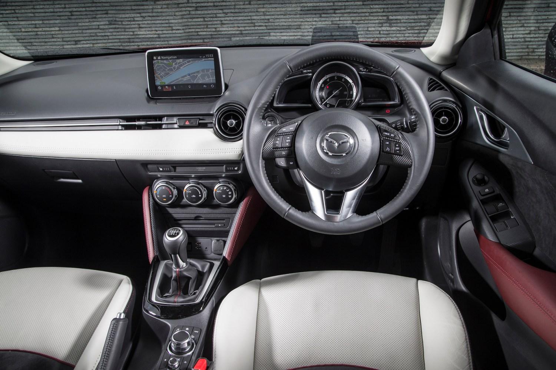 Mazda CX-3: On the inside