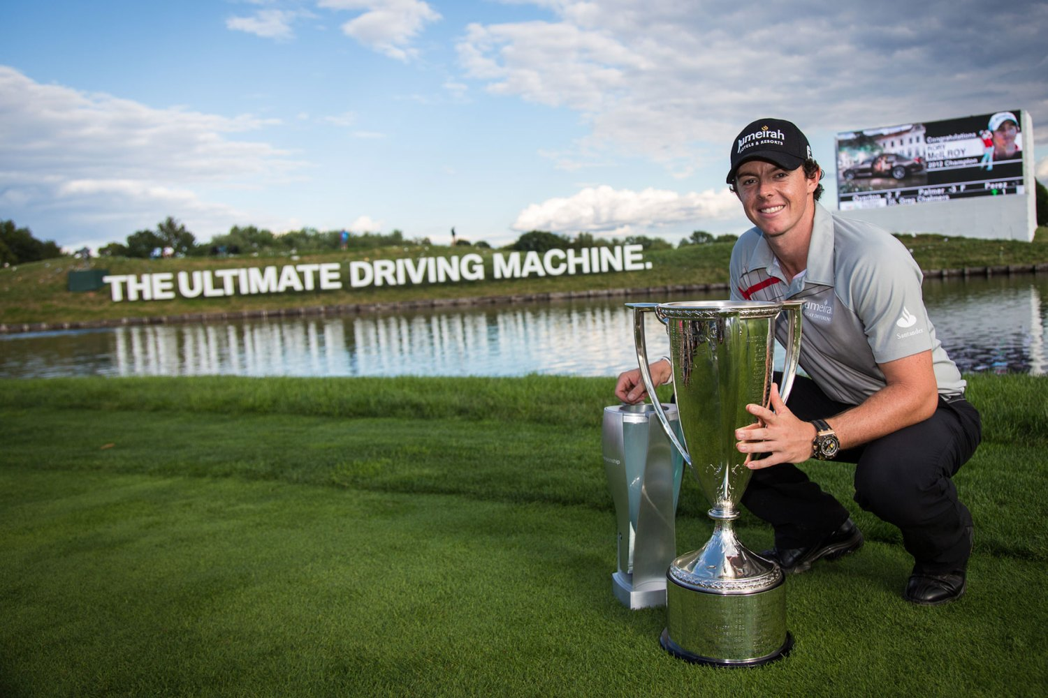 Rory McIlroy and BMW
