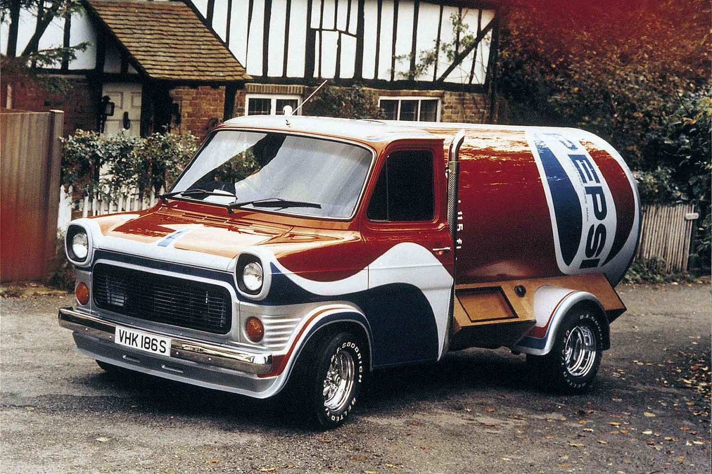 Classic Pepsi Ford Transit
