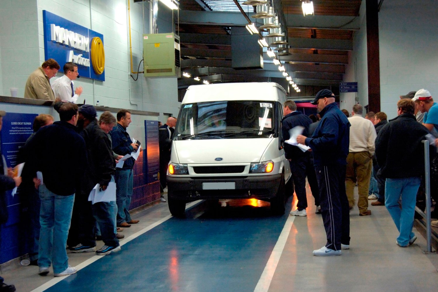 Manheim celebrates 50 years of the Ford Transit
