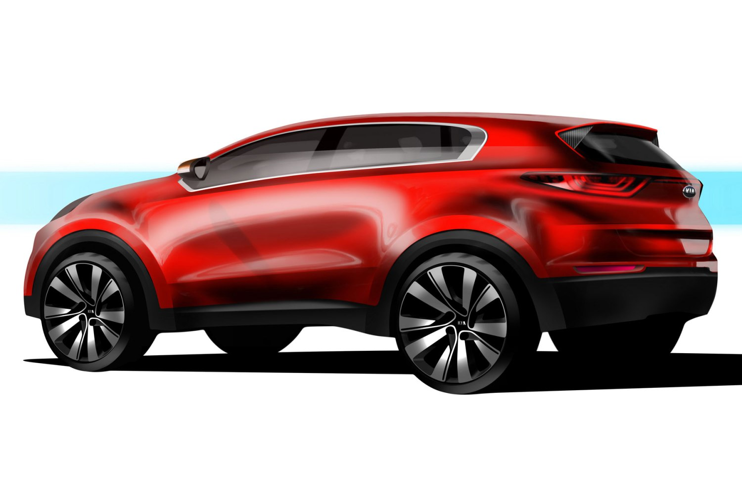 2016 Kia Sportage teased ahead of Frankfurt debut