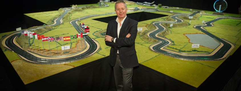 Martin Brundle's ultimate Scalextric track to be auctioned at CarFest South