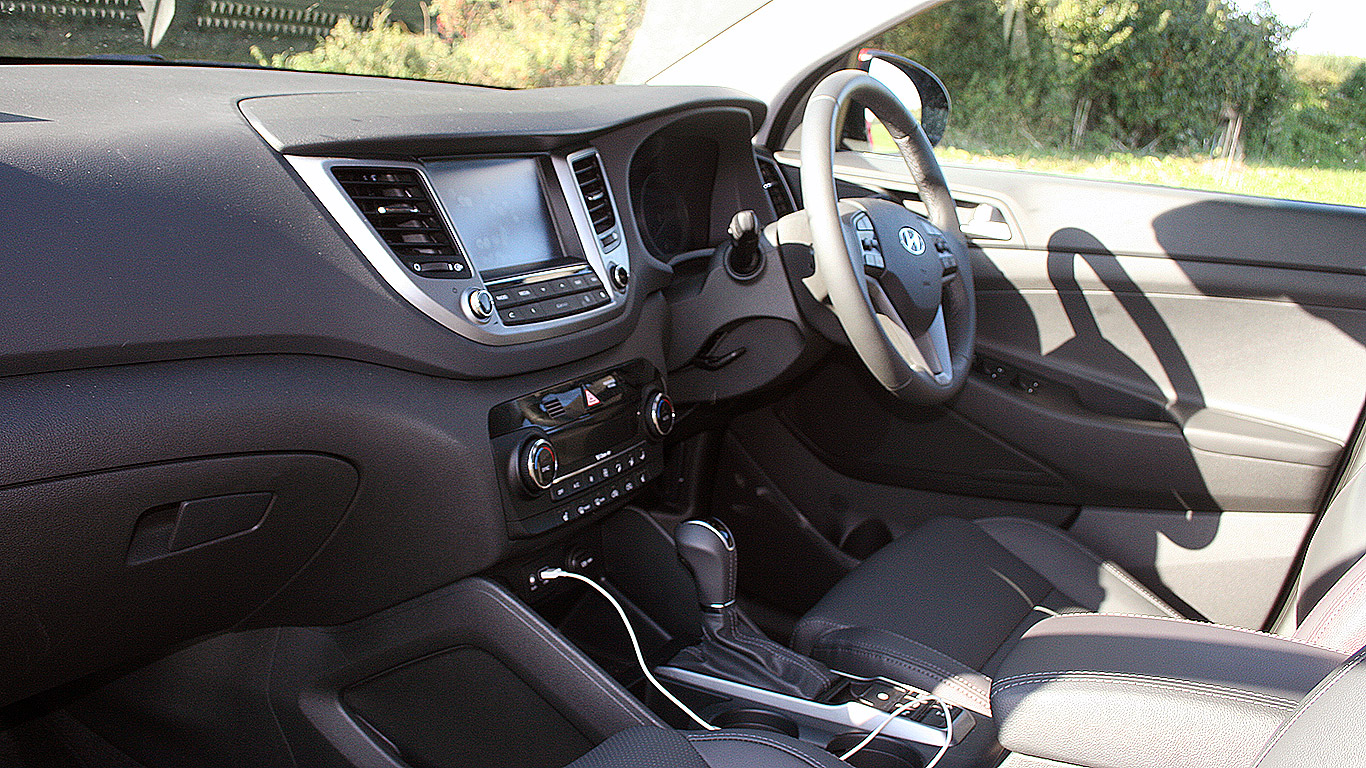 Hyundai Tucson 1.6 T-GDI: what about safety?