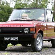 The perfect year-round vehicle? Rare Range Rover convertible up for auction