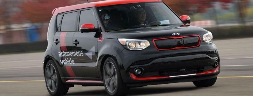 Kia announces £1.3 billion investment in driverless car technology