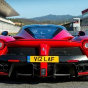 Ferrari to auction V12 LAF number plate for charity