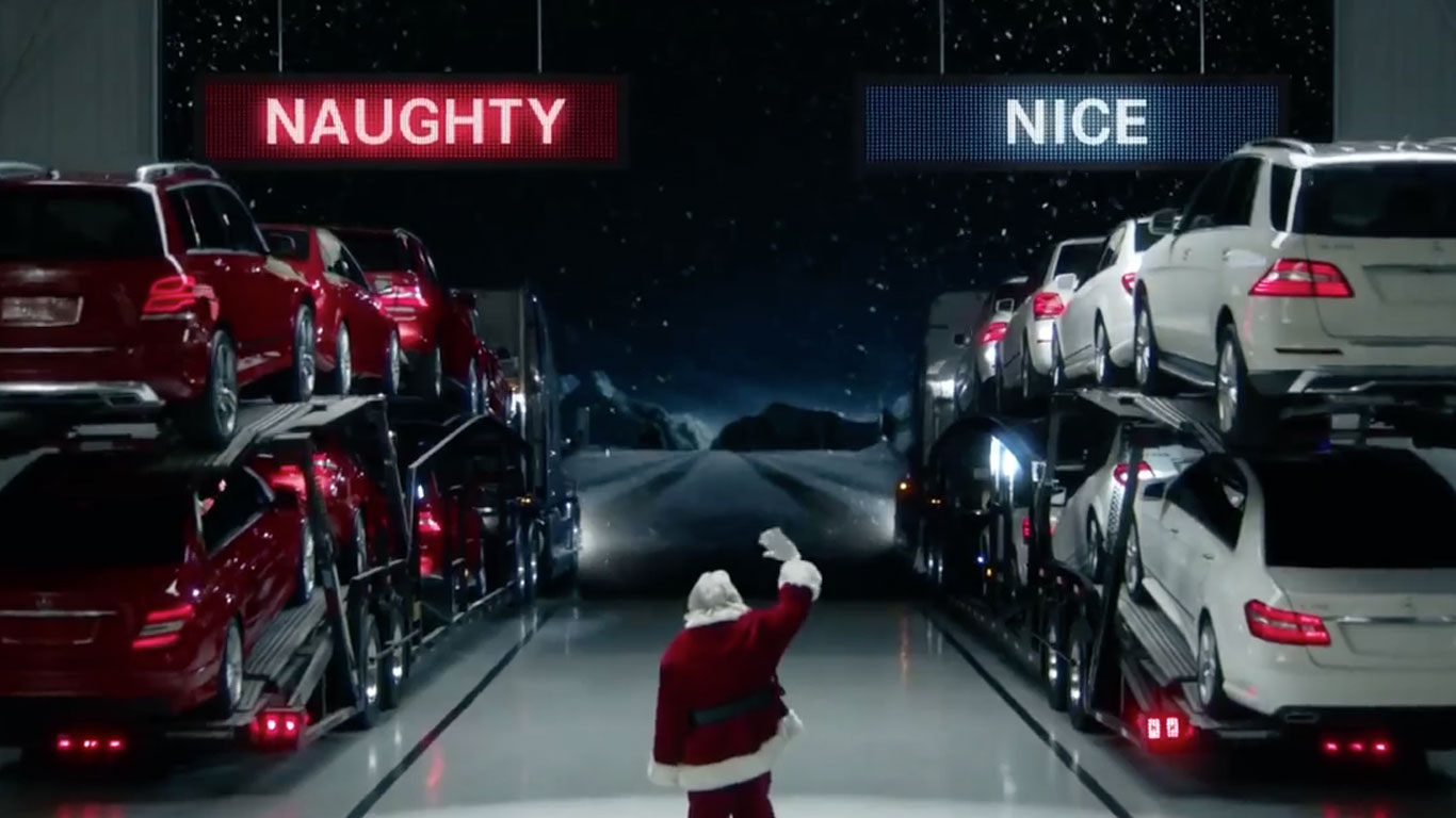 Naughty and nice Mercedes-Benz